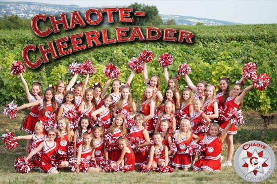 Mit Spass hoch hinaus! Chaote-Cheerleader-Casting am Samstag ...