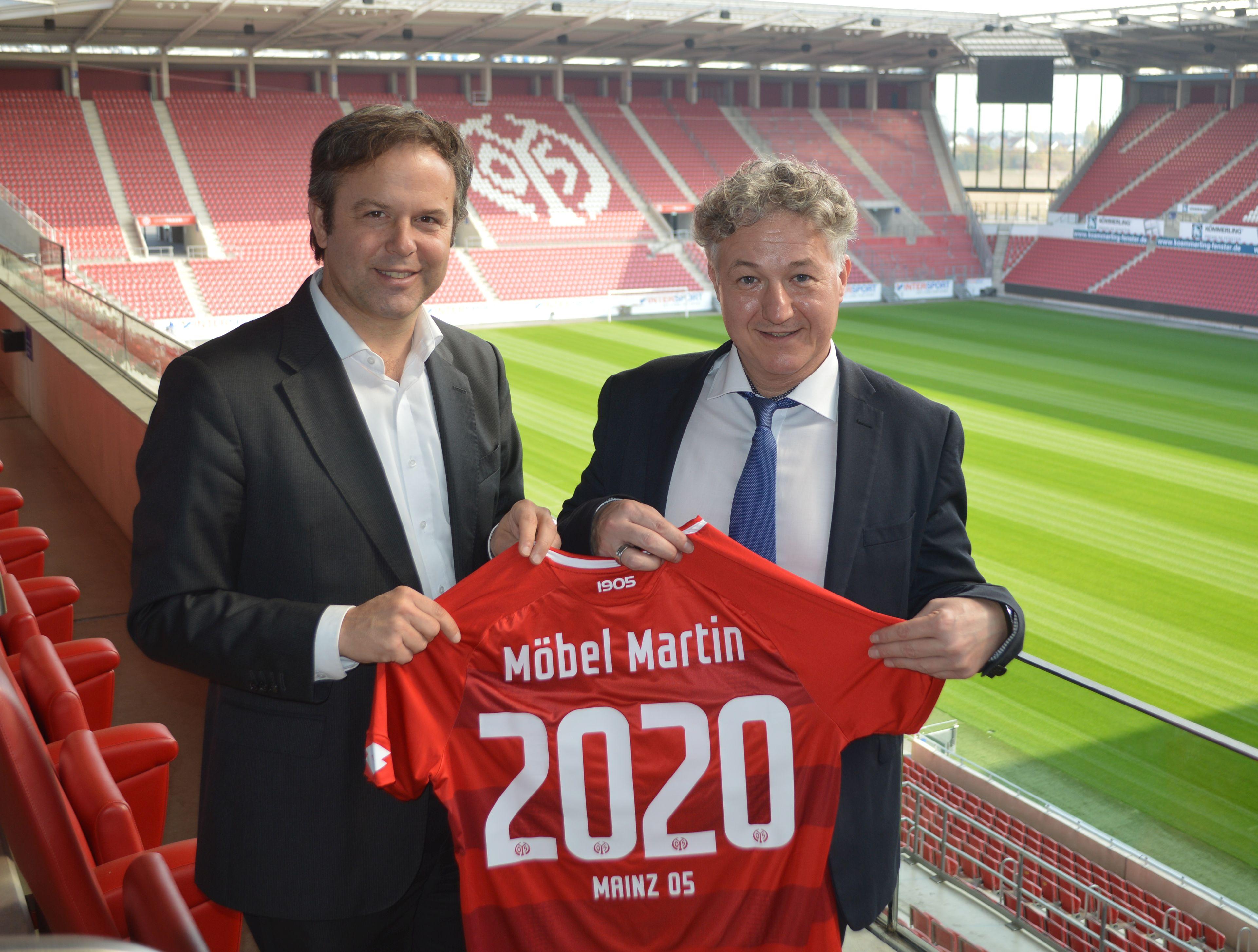 Möbel Martin Bleibt Mainz 05 Weiterhin Als Partner Treu